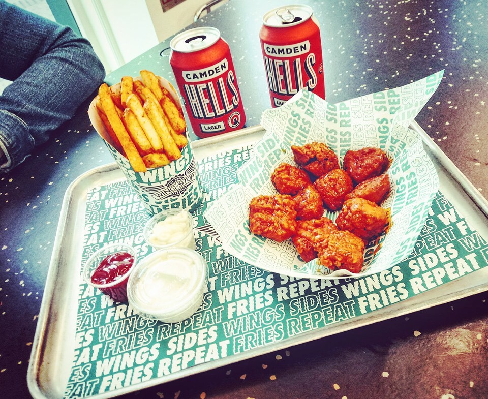 Wing stop wings chicken