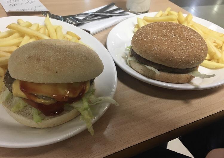 Wimpy burgers Nottingham